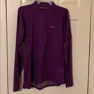 Columbia Omni heat 1/4 zip shirt